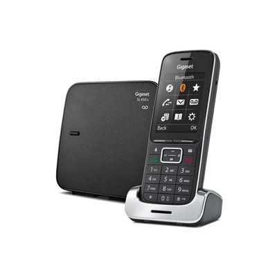 Gigaset SL450A Analoge-/DECT-telefoon Zwart
