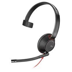 Plantronics Blackwire 5210 Headset Hoofdband Zwart, Rood