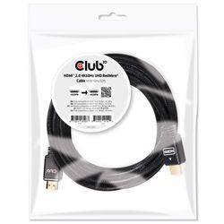 CLUB3D HDMI 2.0 4K60Hz RedMere Kabel 10 meter