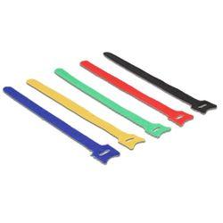 DeLOCK 18636 kabelbinder Nylon Zwart, Blauw, Groen, Rood