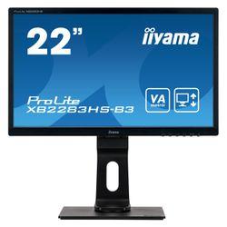 "iiyama ProLite XB2283HS-B3 21.5"" Full HD VA Mat Zwart Flat computer monitor LED display"