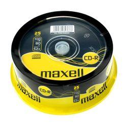 Maxell CD-R 700Mb CD-R 700MB 25stuk(s)