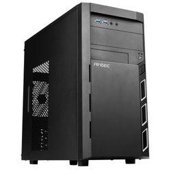 Antec VSK3000 Elite Mini-Toren Zwart computerbehuizing