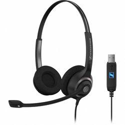 Sennheiser SC 260 USB Stereofonisch Hoofdband Zwart
