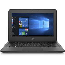 """HP Stream 11 Pro G4 EE 1.1GHz N3450 11.6"""" 1366 x 768Pixels Touchscreen Zwart Notebook"""