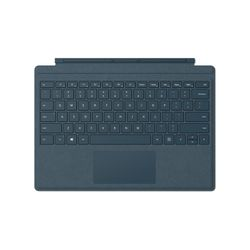 Microsoft Surface Pro Signature Type Cover toetsenbord voor mobiel apparaat Blauw Microsoft Cover port