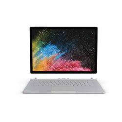 "Microsoft Surface Book 2 1.90GHz i7-8650U 15"" 3240 x 2160Pixels Touchscreen Zilver Hybride (2-in-1)"