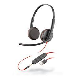 Plantronics Blackwire 3225 Headset Hoofdband Zwart