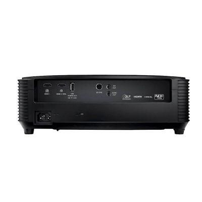 Optoma DH350 beamer/projector 3200 ANSI lumens DLP 1080p (1920x1080) 3D Desktopprojector Zwart