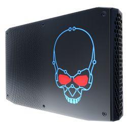 Intel NUC BOXNUC8I7HVK2 PC/workstation barebone i7-8809G 3,1 GHz 1.2L maat pc Zwart BGA 2270