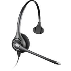 Plantronics HW251N Monauraal Hoofdband Zwart hoofdtelefoon
