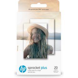 HP Sprocket Plus pak fotopapier Wit Glans