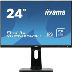 """iiyama ProLite XUB2495WSU-B1 24.1"""" Full HD IPS Zwart Flat computer monitor"""