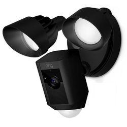 Ring Floodlight Cam IP-beveiligingscamera Buiten Doos Zwart