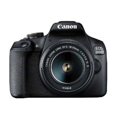 Canon EOS 2000D BK 18-55 IS II EU26 SLR camerakit 24,1 MP