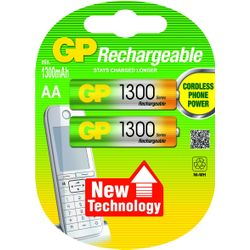 GP Batteries NiMH rechargeable batteries AA Nikkel Metaal