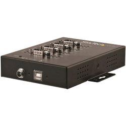 StarTech.com 4 poorts industriële USB naar RS-232/422/485 seriële adapter 15 kV ESD bescherming