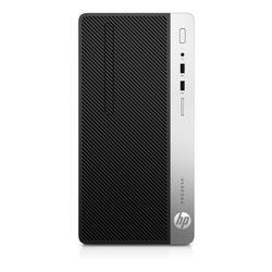 HP ProDesk 400 G5 MT 3.2GHz i7-8700 Micro Tower Zwart, Zilver PC
