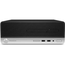 HP ProDesk 400 G5 SFF 3.6GHz i3-8100 SFF Zwart, Zilver PC