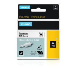 DYMO 18051 labelprinter-tape Zwart op wit