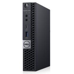 DELL OptiPlex 5060 2,1 GHz Intel® 8ste generatie Core™ i5 i5-8500T Zwart MFF Mini PC