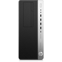 HP EliteDesk 800 G4 Tower 3,2 GHz Intel® 8ste generatie Core™ i7 i7-8700 Zwart, Zilver Toren PC
