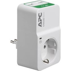 APC PM1WU2-IT Overspanningsbeveiliging 1 AC-uitgang(en) 230 V Wit