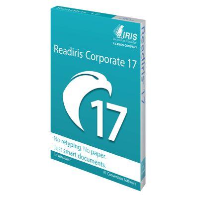 I.R.I.S. Readiris Corporate 17 1 licentie(s) Elektronische