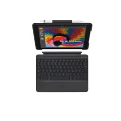 Logitech Slim Combo toetsenbord voor mobiel apparaat QWERTY UK International Grafiet Bluetooth
