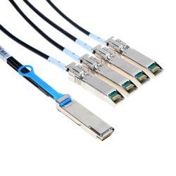 Mellanox Technologies QSFP / 4 SFP+, 1m 1m QSFP 4 x SFP+