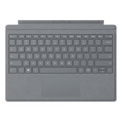 Microsoft Surface Go Signature Type Cover QWERTY Platina toetsenbord voor mobiel apparaat