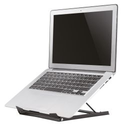 Newstar NSLS075BLACK notebookstandaard Notebook stand Zwart 38,1 cm (15