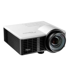 Optoma ML750ST beamer/projector 800 ANSI lumens DLP WXGA (1280x720) 3D Draagbare projector Zwart, Wit