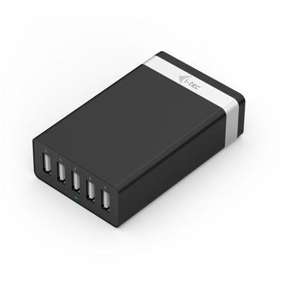 i-tec CHARGER5P40W oplader voor mobiele apparatuur Binnen