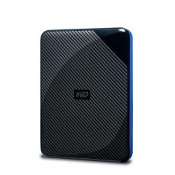 Western Digital WDBDFF0020BBK-WESN externe harde schijf 2000 GB Zwart, Blauw