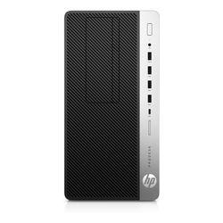 HP ProDesk 600 G4 Intel® 8de generatie Core™ i5 i5-8500 8 GB DDR4-SDRAM 256 GB SSD Micro Tower Zwart, Zilver PC Windows 10 Pro
