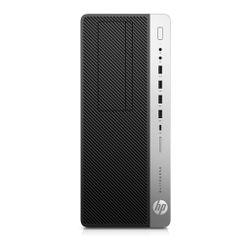 HP EliteDesk 800 G4 Intel® 8de generatie Core™ i5 i5-8500 8 GB DDR4-SDRAM 256 GB SSD Tower Zwart, Zilver PC Windows 10 Pro