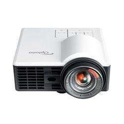 Optoma ML1050ST+ beamer/projector 1000 ANSI lumens DLP WXGA (1280x800) 3D Desktopprojector Zwart, Wit