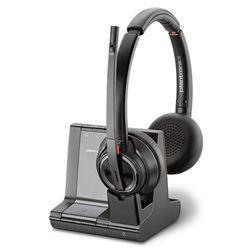 Plantronics Savi W8220/A, UC Headset Hoofdband Zwart