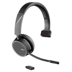 Plantronics Voyager 4210 UC Headset Hoofdband Zwart