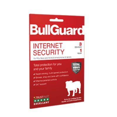 BullGuard Internet Security 2019 1 jaar