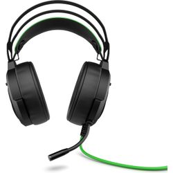 HP Pavilion Gaming 600 Headset Hoofdband USB Type-A Zwart, Groen