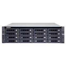 QNAP TS-1683XU-RP Ethernet LAN Rack (3U) Zwart NAS