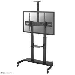 NewStar Mobile Flat Screen Floor Stand height: 128-160 cm