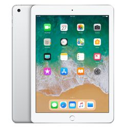 Apple iPad 2018 32GB Zilver wireless only (Als nieuw)