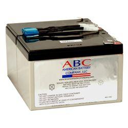 American Battery RBC6 UPS-accu Sealed Lead Acid (VRLA) 12 V 12 Ah