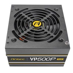 Antec VP500P Plus GB power supply unit 500 W ATX Zwart