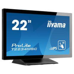 iiyama 215i PCAP Bezel Free Front Speakers 10PTouch IPS Panel 1920x1080 VGA DisplayPort HDMI USB Interface Multitouch met suppor