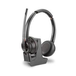 Plantronics Savi W8220 Headset Hoofdband Zwart
