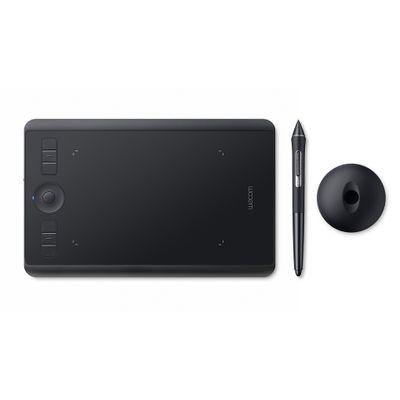 Wacom Intuos Pro (S) grafische tablet Zwart 5080 lpi 160 x 100 mm USB/Bluetooth